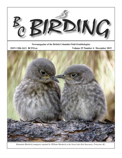 BC Birding Cover Dec 2015