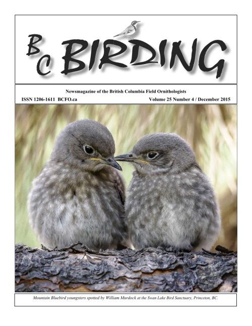 BC Birding Cover Dec 2015