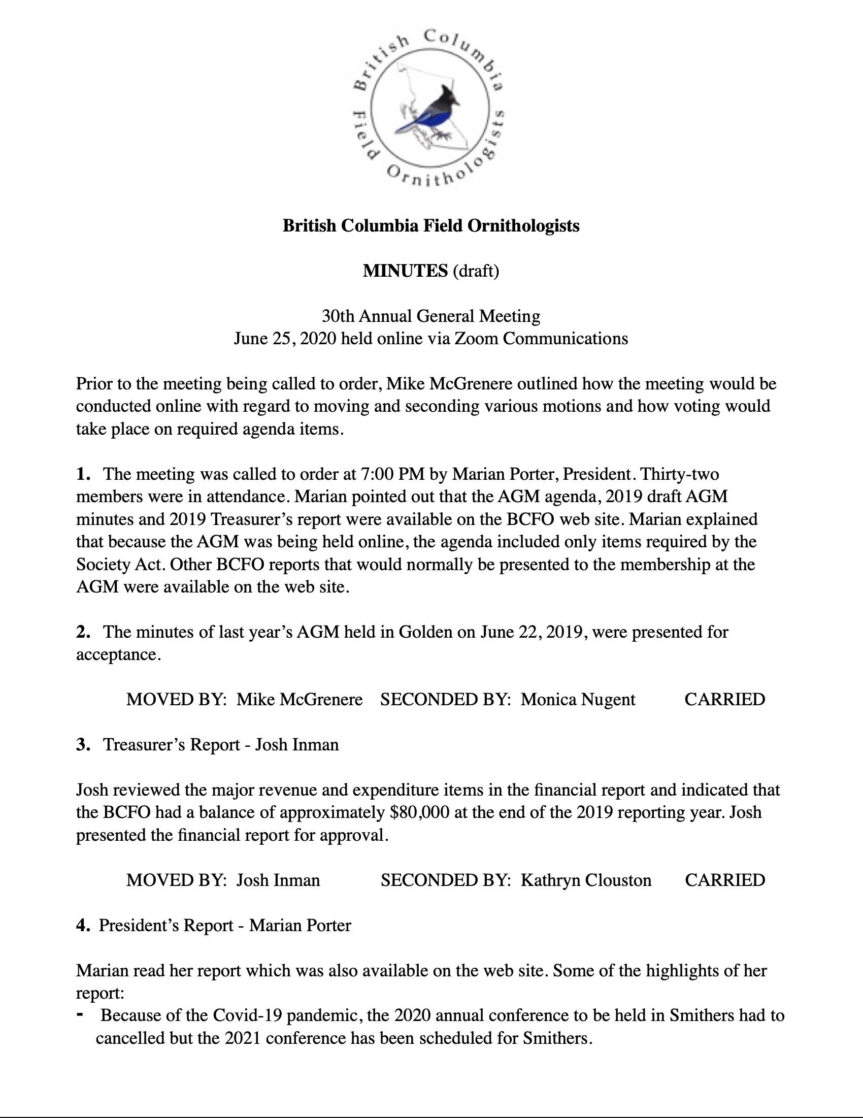 BCFO - Minutes AGM, June 25, 2020-1